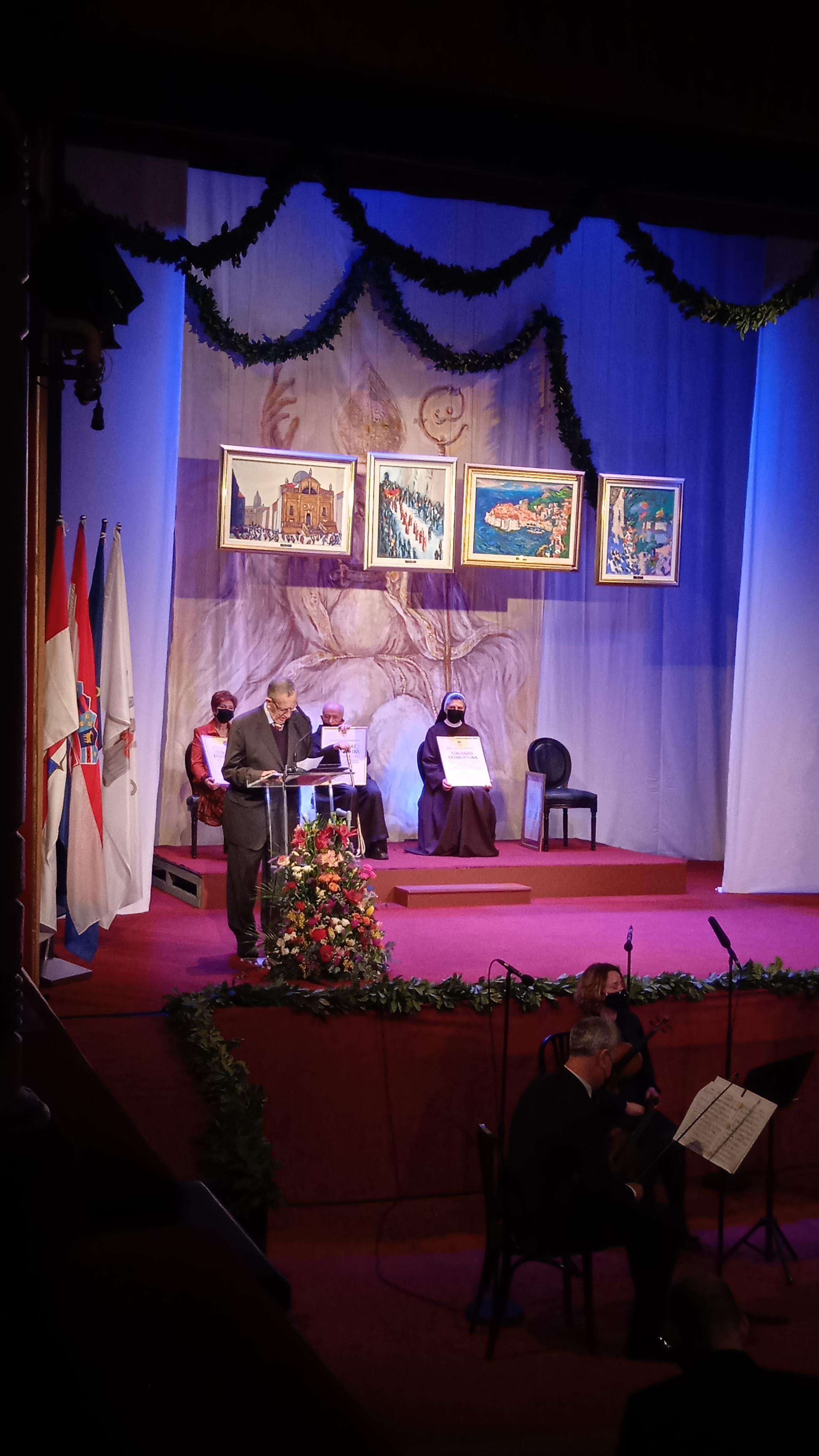Zahvala g. Nikole Obuljena u ime dobitnika nagrade Grada