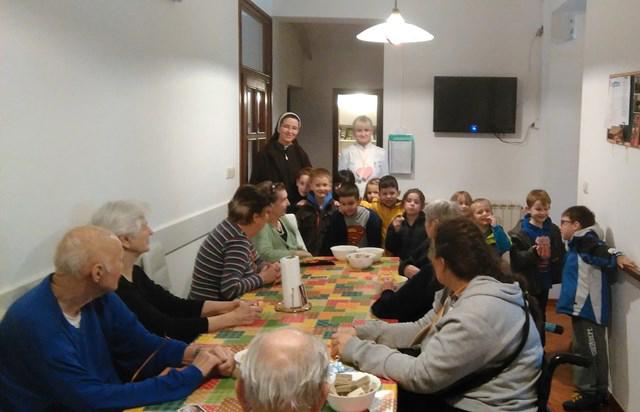 Susret u staračkom domu Remete