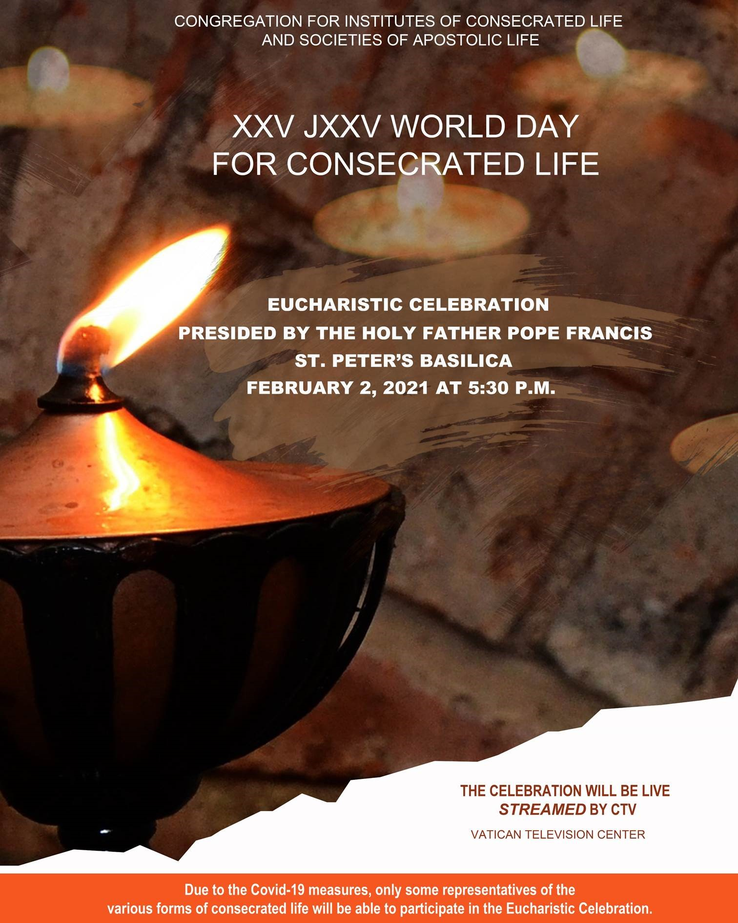 Poruka za 25. svjetski dan posvećenog života