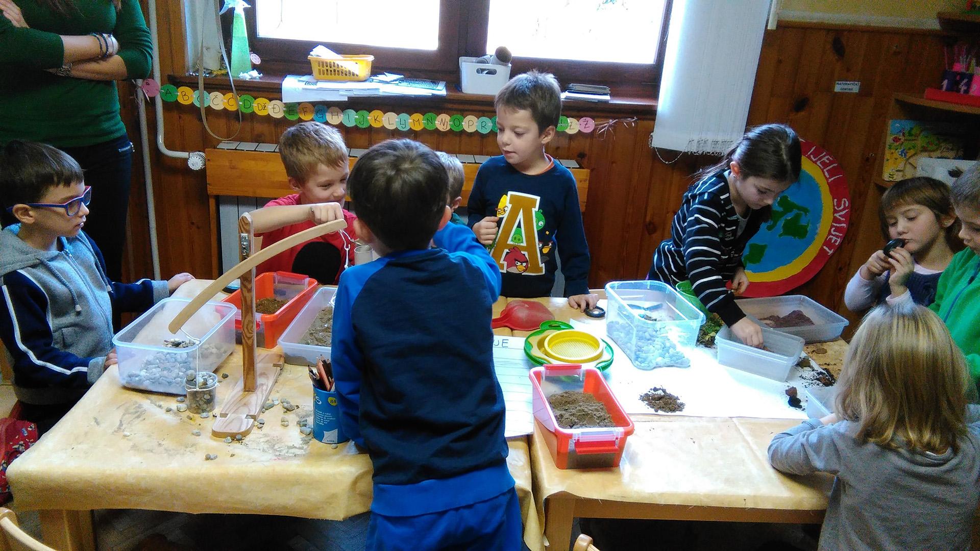 Aktivnosti u vrtiću - zrelost za školu
